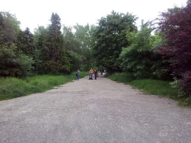 ziua, cetăţenii se mai plimbă pe vechile alei