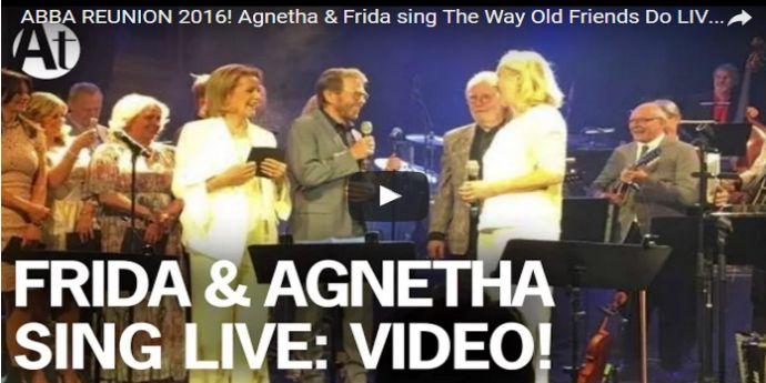 VIDEO DE COLECŢIE Cum a cântat ABBA de curând live
