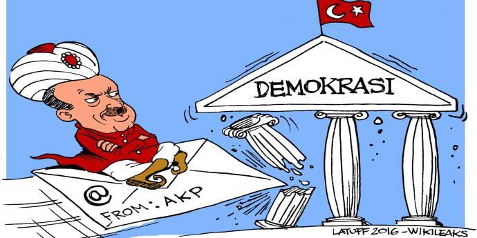 Wikileaks publică sute de mii de email-uri ale guvernului turc