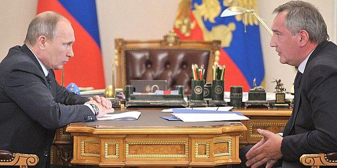 Rogozin a zburat pe deasupra României, ratând Chişinăul