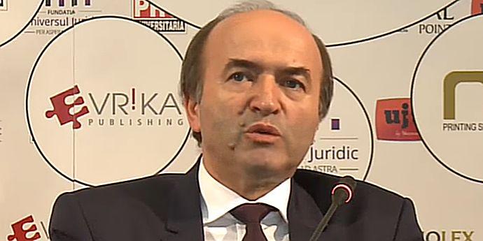 Tudorel Toader, rector la Iaşi, este posibilul ministru al Justiţiei