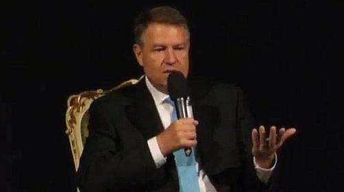 Klaus Iohannis vorbeşte acum despre viitorul României VIDEO