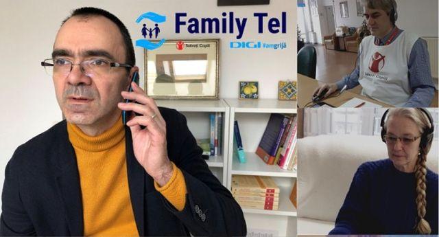 Salvaţi Copiii. Cine a cerut sprijin la Family Tel. Parinti ai caror copii au intrerupt terapia in starea de urgenta, mame singure, bunici care isi cresc nepotii