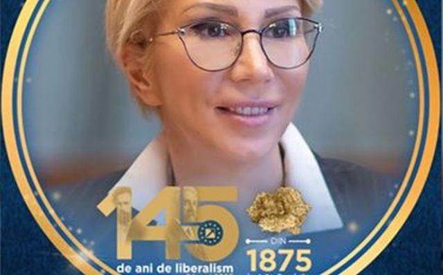 Raluca Turcan a postat pe Facebook harta României Mari