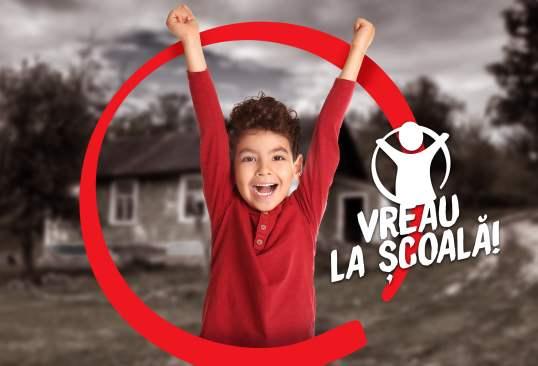 """Salvați Copiii dă voce dorinței copiilor, prin campania """"Vreau la școală!"""""""