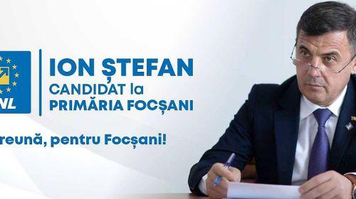 Ion Ştefan va fi candidatul PNL la Primăria Focşani
