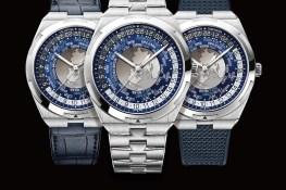 江詩丹頓 Overseas 系列錶款形象圖 一錶三風格