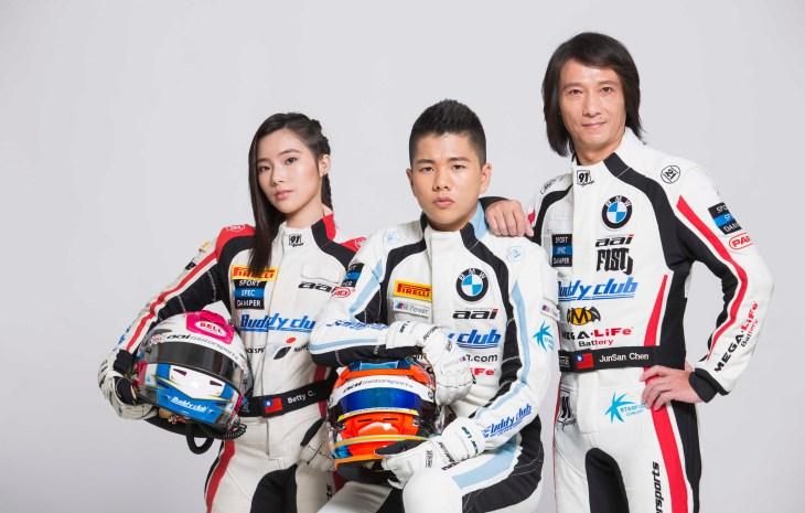 AAI車隊將台灣新星推向世界舞台