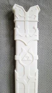 3d printed Master sword sheathe