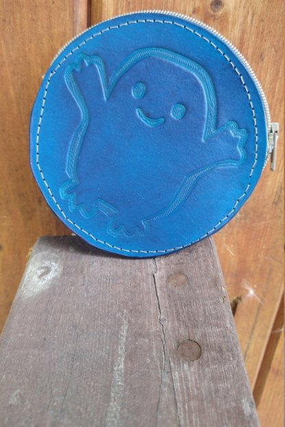 Adipose inspired leather coin purse