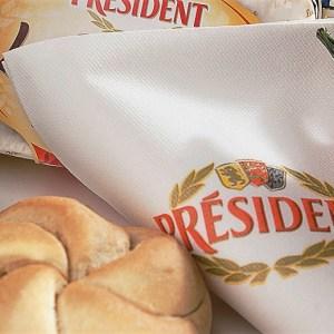 Lunch-Servietten aus Airlaid mit Logo bedrucken, stoffähnlich