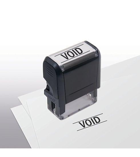 Void Stamp - Self-Inking