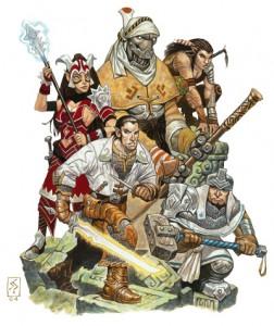 Eberron adventurers