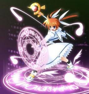 Magic Anime Girl