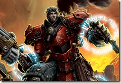 Artwork from an upcoming Warmachine book