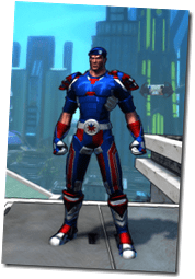 Patriot, one of my Champions Online characters