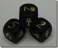 The aformentioned Ankh dice