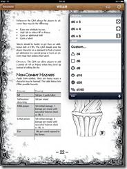 Dicebook screenshot