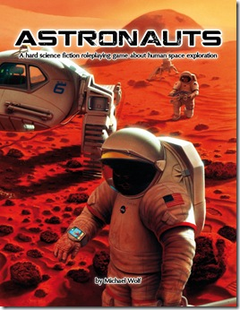Astronauts RPG cover
