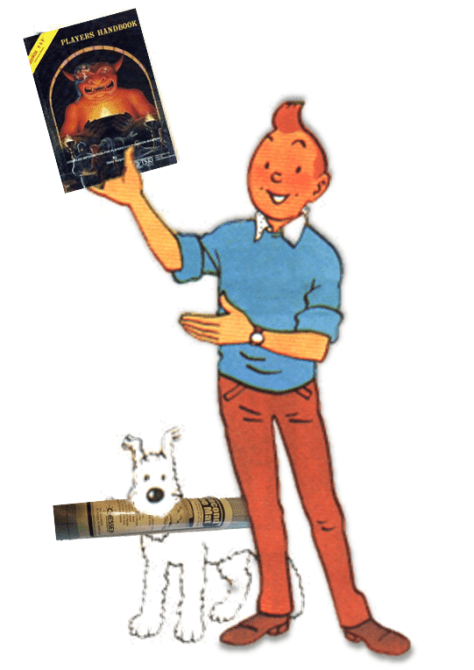 Tintin the role player