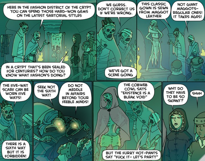 More Oglaf - check it out through the link in the text or the sidebar