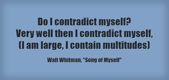 Do-I-contradict-myself