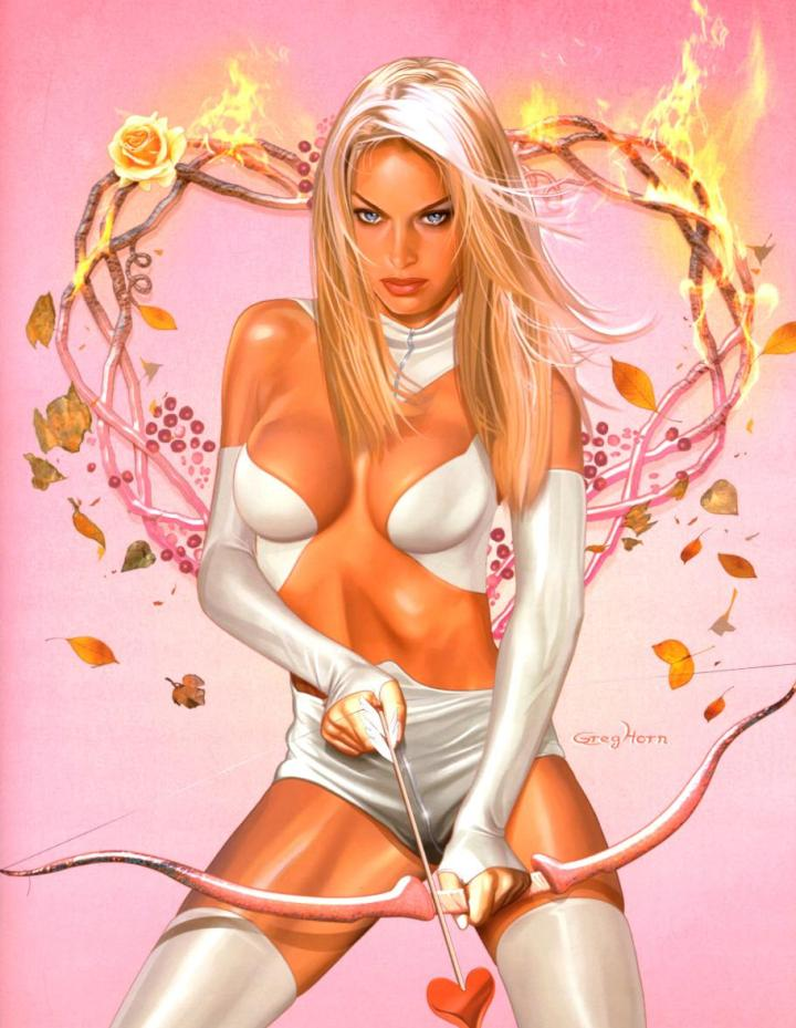 Greg Horn's Emma Frost as Aphrodite