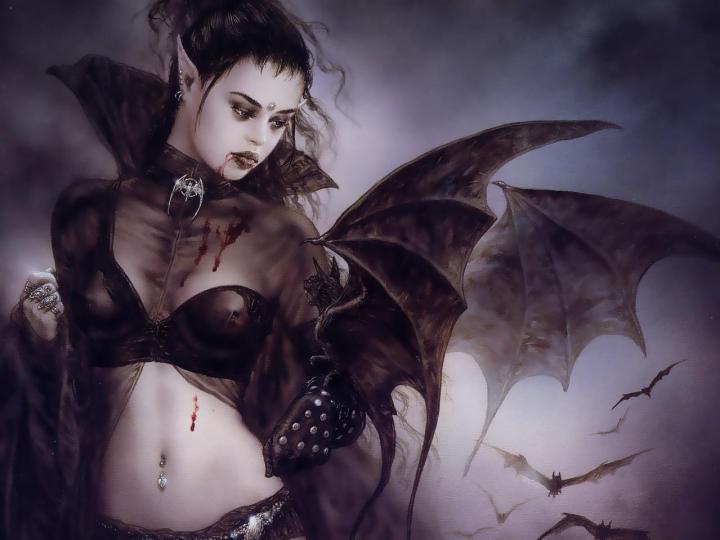 Fantasy art by Luis Royo