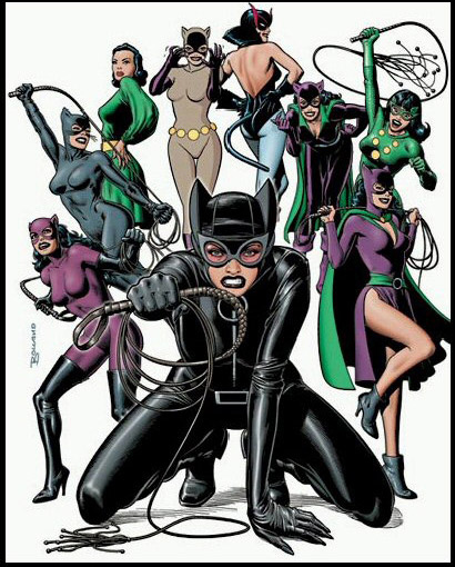 The nine lives of Catwoman...