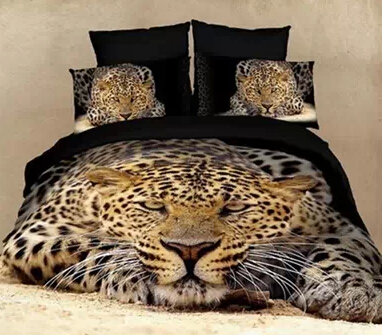 Rowr! Pictured - the blogger's bed. Or not really - I do have my leopard lounge, with lava-lamp lighting of course.