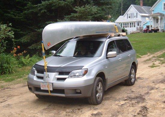 the canoe on the outlander