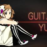 k-on - yui - guitar
