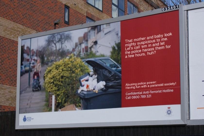 uk anti-terrorist hotline billboard