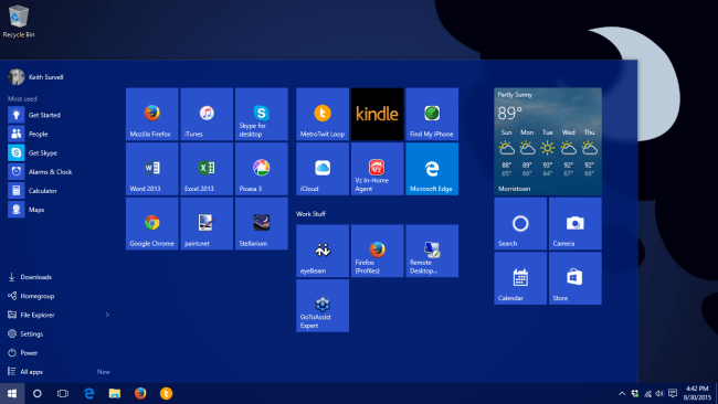 The Start menu is back... but will anyone really care?
