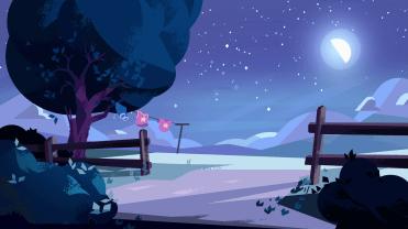 steven universe - nighttime at the barn