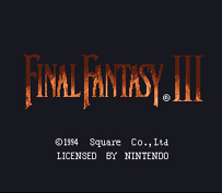 Final Fantasy III/VI Title