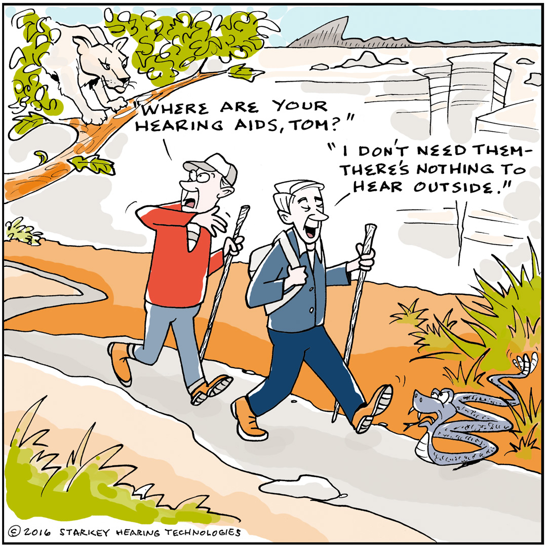 Using Hearing Aids Outside
