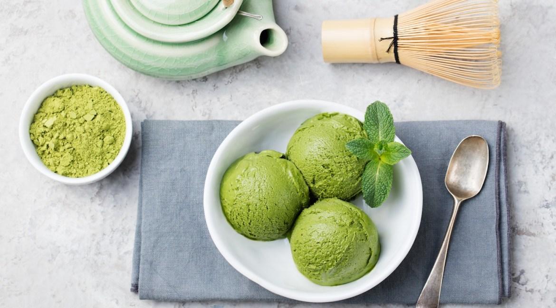 Matcha Avocado Ice-Cream, for Mum!