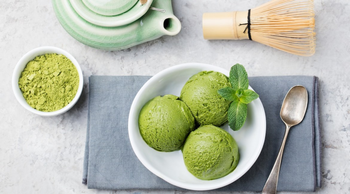 Matcha Avocado Vegan Ice-Cream