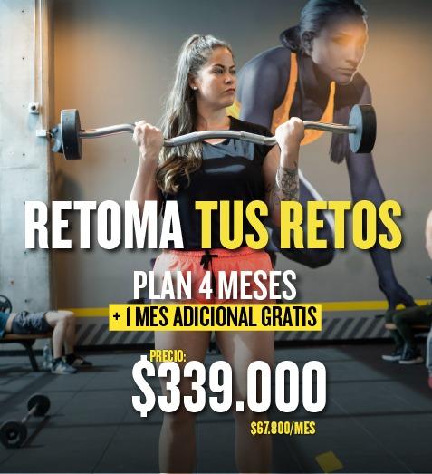 Plan 4+1 Stark Gym