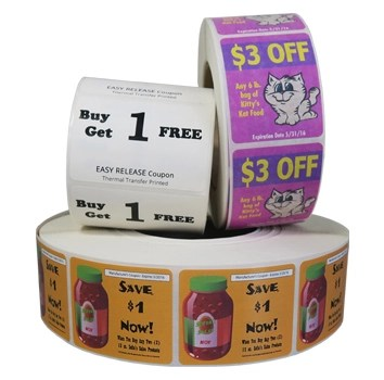 Promotional Labels and/or Coupons