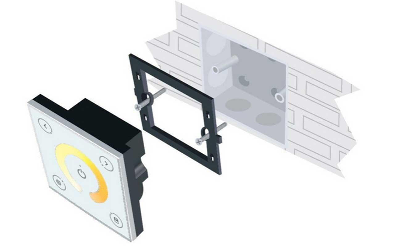 boite d encastrement universelle electrique simple poste 80 x 80 profondeur 50 mm