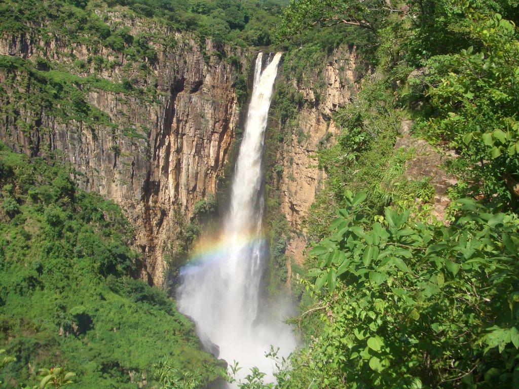 Kalambo Falls on Tanzania-Zambia border