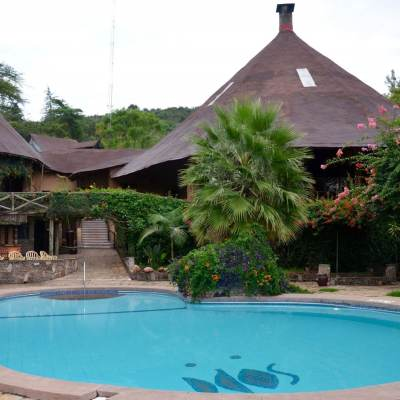 Mara Sopa Lodge swimming pool