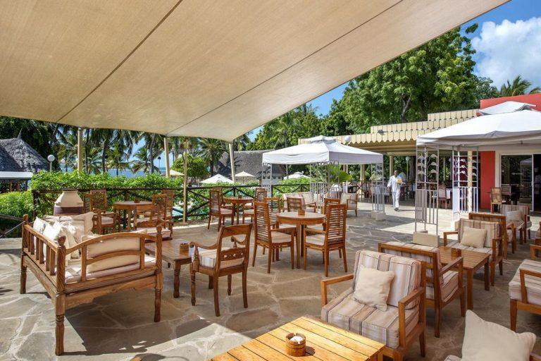 A restaurant at Diamonds Dream of Africa.