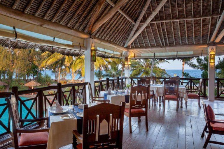 Restaurant at Neptune Village Beach Resort & Spa.