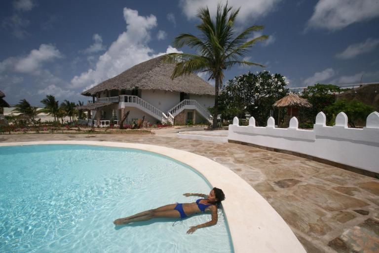 Swimming pool at Jacaranda Beach Hotel