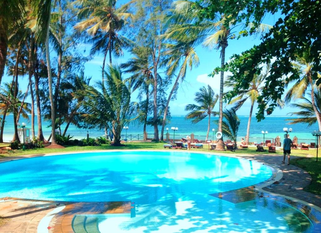Swimming pool at Neptune Beach Resort