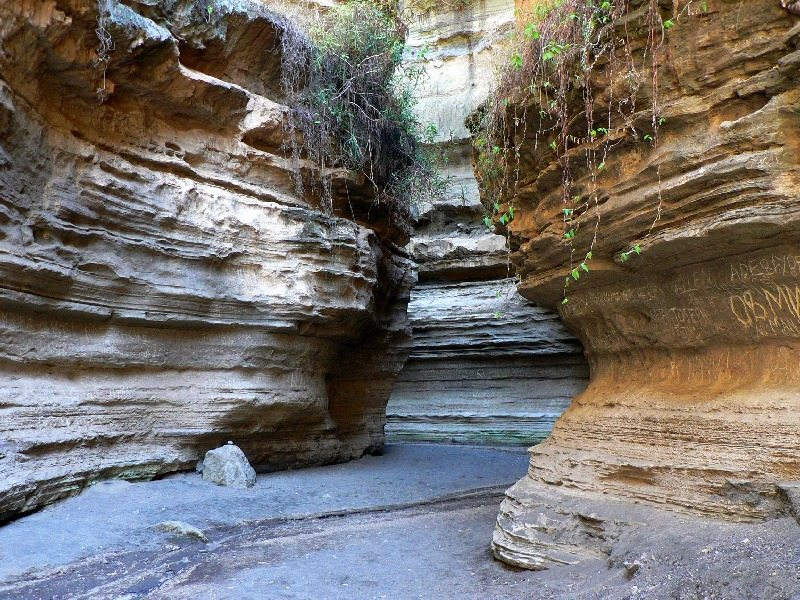 A gorge in Hell's Gate National Park