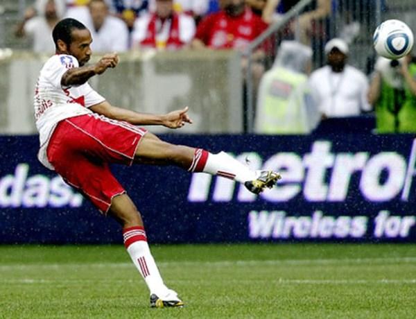 Thierry Henri: mieux payé que David Beckham